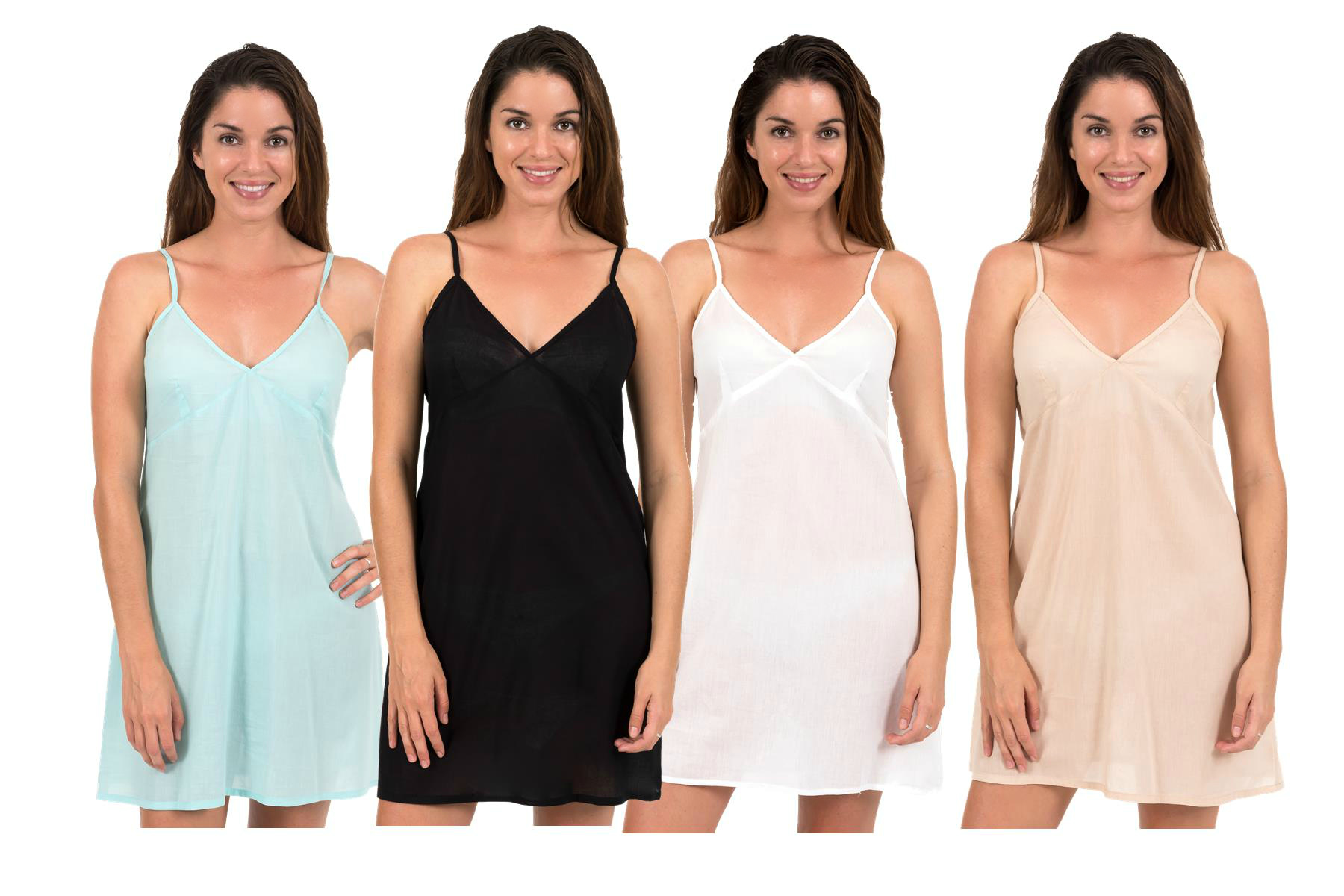 Cotton Slip Dress Clara by Spirituelle