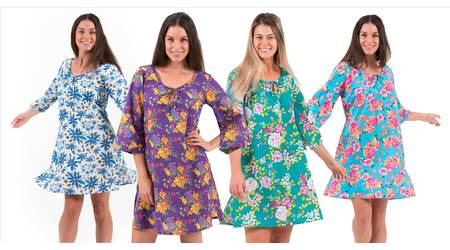 Cotton Kaftan Dresses